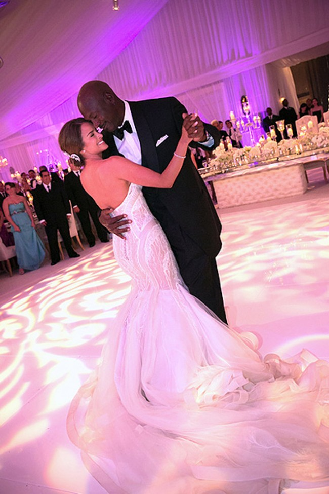 В интернет попали фотографии со свадьбы Майкла Джордана (фото)