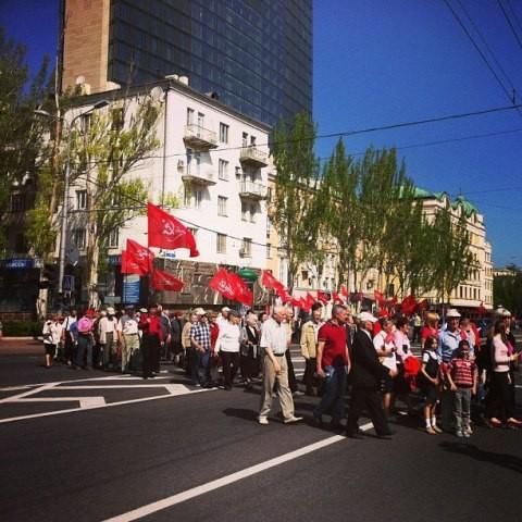 На митинге в Донецке приводили излюбленные стишки Вице-президента