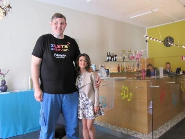 Злата Огневич выступит на Евровидении с гигантом (фото)