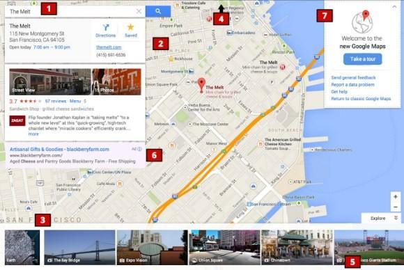 Google обновит дизайн Google Maps
