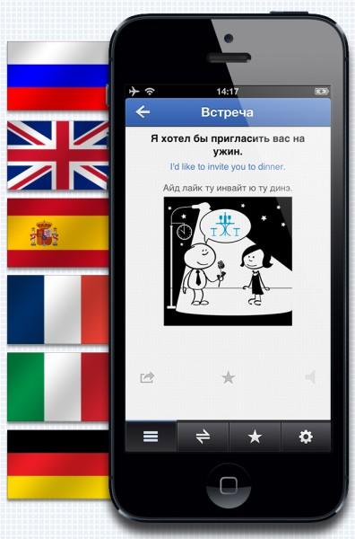 Вышла новая модификация ABBYY Разговорников для Эпл iOS