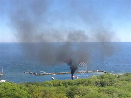 Обладатель взорвавшейся в Одессе яхты располагается в интенсивной терапии