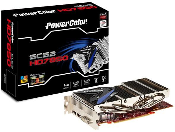 PowerColor SCS3 Radeon HD 7850: слабая карта памяти