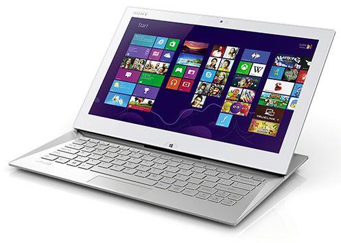 Сони VAIO Duo 13: планшет-ноутбук на Виндоус 8