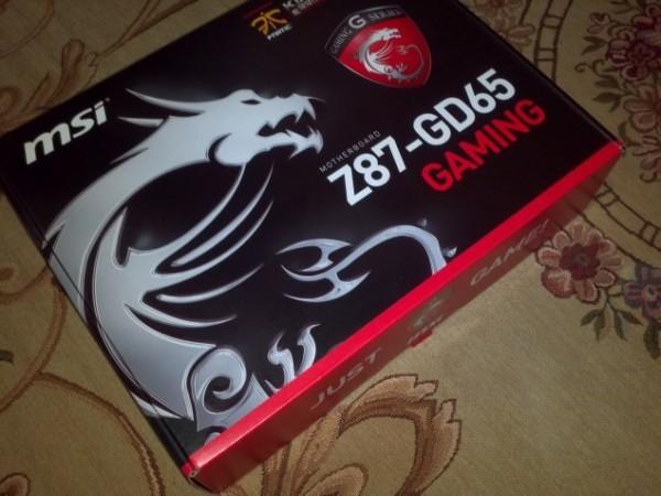 Оперативная память MSI Z87-GD65 Gaming  официально