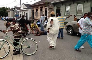 Опубликована запись перестрелки в Новом орлеане (ФОТО, ВИДЕО)