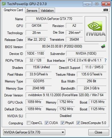 GeForce GTX 770 выйдет маршрутом перепрошивки BIOS GTX 680