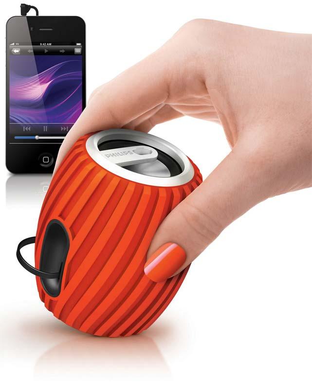 Аудиосистема Philips SoundShooter SBA3011 в ослепительном дизайне