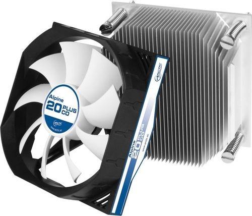 Arctic Альпайн 20 Plus: низкопрофильный вентилятор