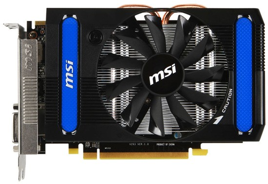 MSI Radeon HD 7790 с двойным объёбог памяти