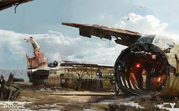 Игра Bungie Destiny: первые снимки экрана игрового мира