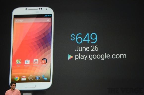 «Самсунг» Галакси С4 на чистом Андроид  официально