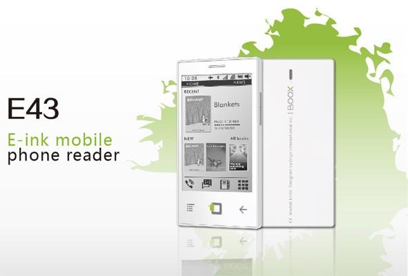 "Onyx BOOX E43: ""андроидный"" смартфон-читалка"