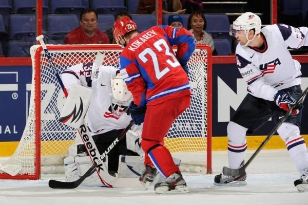 Сборная США разбила Россию в четвертьфинале на ЧМ
