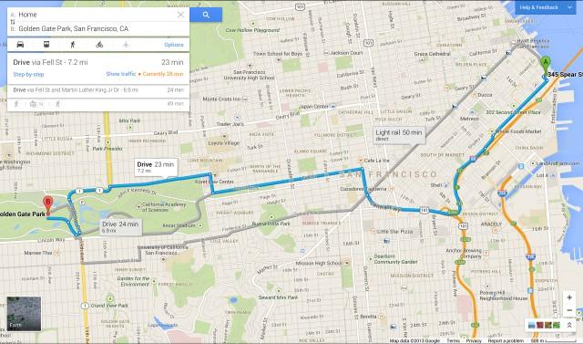 Компания Google перерисовала карты