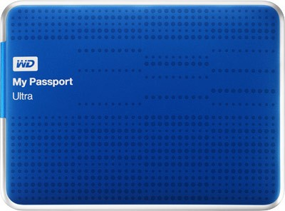Винчестеры серии My Passport Ultra от WD уже продается