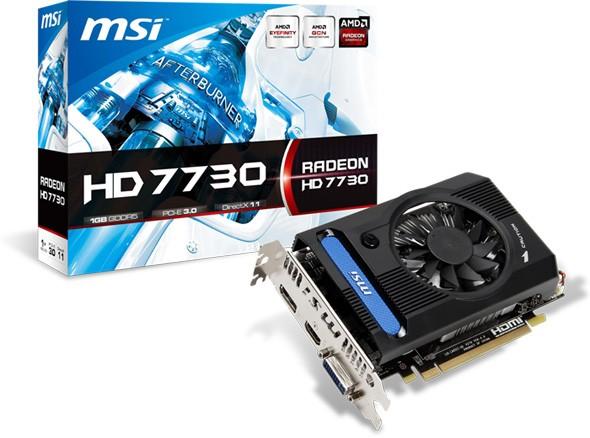 MSI произвела карту памяти на основе Radeon HD 7730
