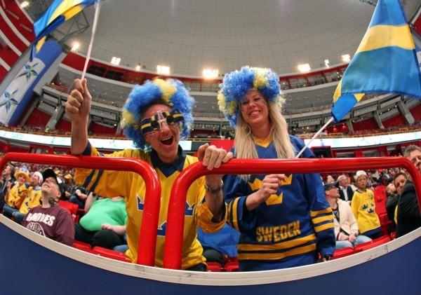 Швеция отбивает Канаду с первенства мира