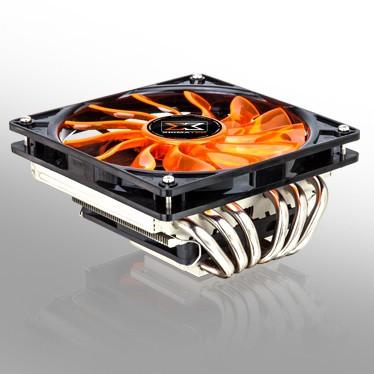 Xigmatek представит низкопрофильный микропроцессорный вентилятор Janus