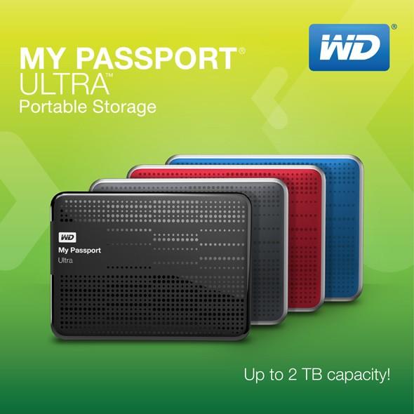 WD My Passport Ultra: малогабаритные внутренние HDD с USB 3.0