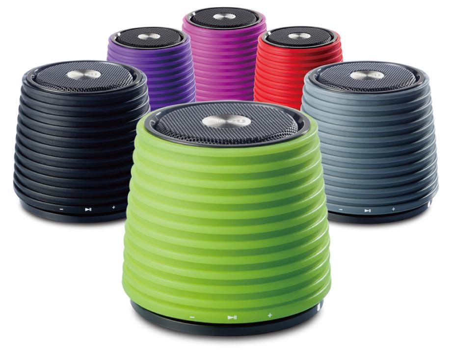 Переносные Bluetooth-колонки эйр2U Music Speaker E10 и E12
