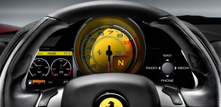 Происхождение Феррари 458 Италия обретет свежий мотор