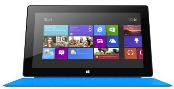 7,9-дюймовый Майкрософт Surface RT появится в начале июня