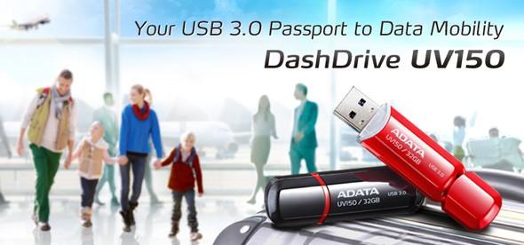 ADATA DashDrive UV150: ёмкие флэшки с USB 3.0
