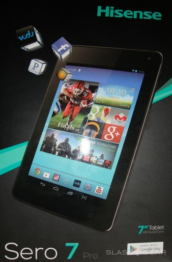 Hisense Sero 7: четырёхъядерный Android-планшет за $100