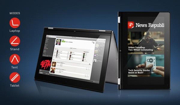 Lenovo IdeaPad Yoga 11С: ультрабук-трансформер с тачскрином