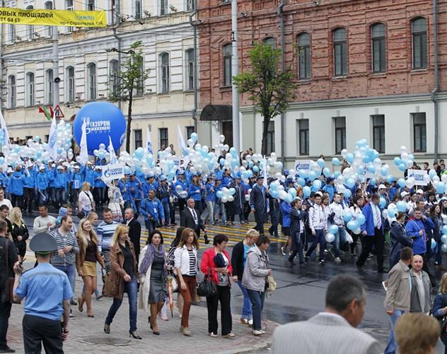 Витебск преобразовался в базу отдыха «Газпрома»