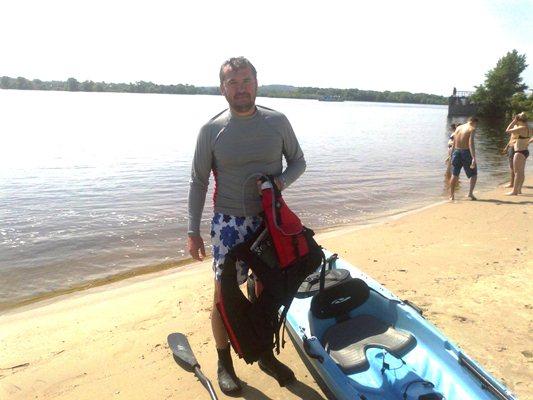 Александр Пономарев занялся греблей (фото)
