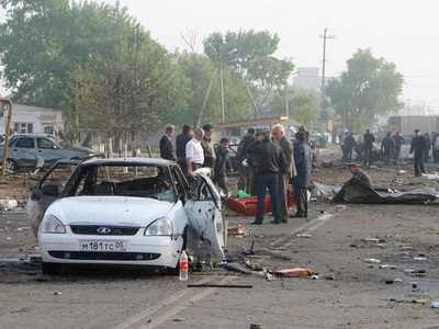 В итоге парного теракта в Махачкале были убиты люди