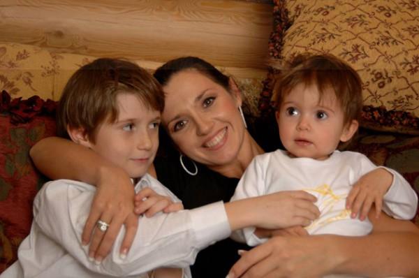 Ксения Марченко продемонстрировала фото собственных детей (фото)