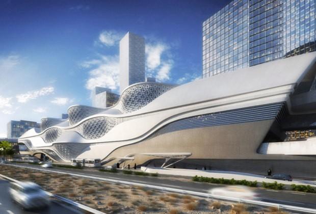 В Саудовской Аравии возведут золотую установку метро