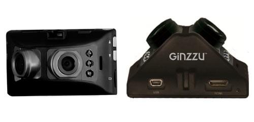 Видеорегистраторы Ginzzu FX-918HD