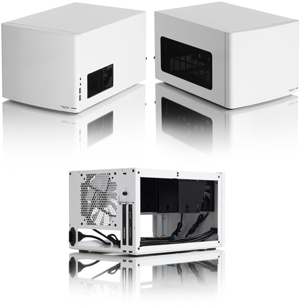 Fractal Design Node 304 White: белый мини-корпус для HTPC