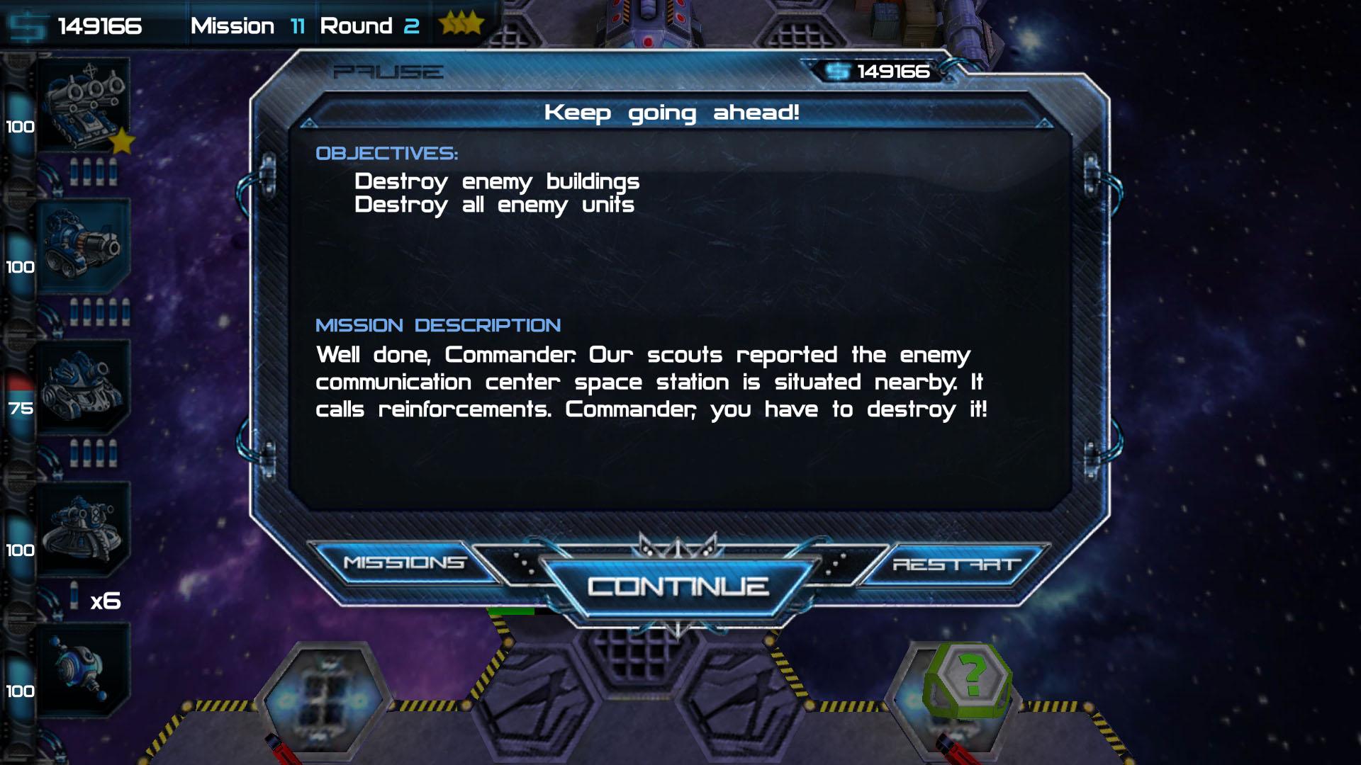 «Cosmo battles»  мобильное похождение в открытом космосе