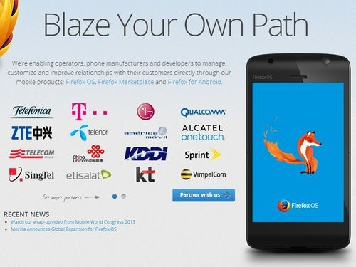 Foxconn представит собственный телефон на базе Firefox OS