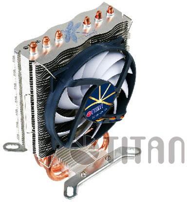 В поступzn слабые CPU-кулера Титан Dragonfly 3 и Dragonfly 4