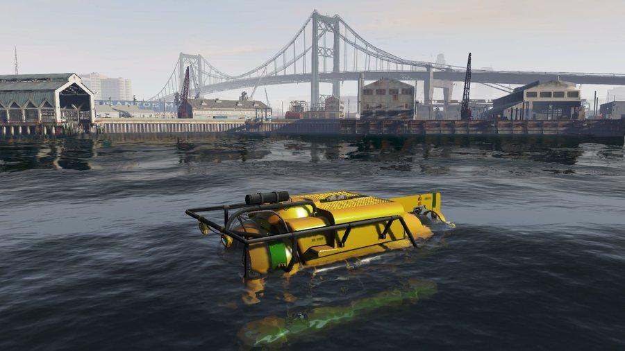 Свежий снимок экрана игры GTA 5