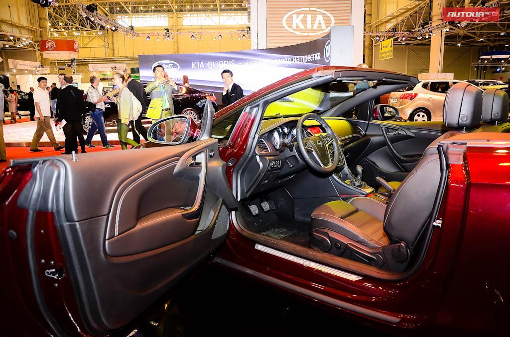 Опель продемонстрировал собственный свежий автомобиль с откидным верхом на SIA 2013