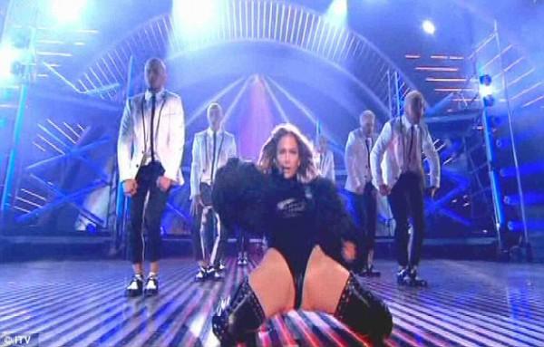 Джей Ло осрамилась на гала-концерте Britain'с Got Talent