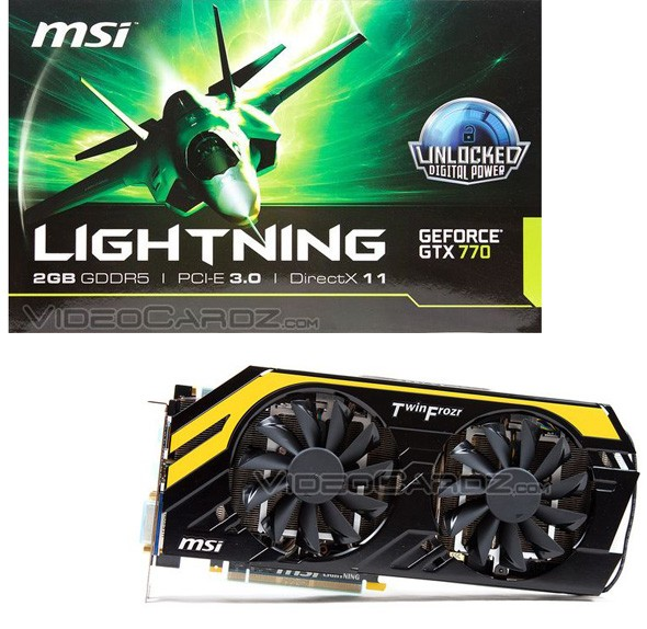 MSI GeForce GTX 770 Lightning: технологические характеристики