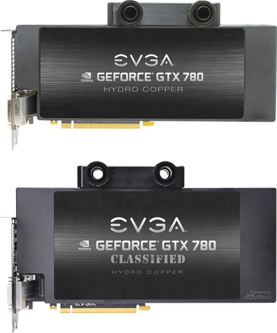 Организация EVGA оборудовала GeForce GTX 780 водоблоком