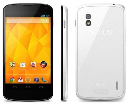 «ЭлДжи» Nexus 4 White: черная модификация распространенного телефона