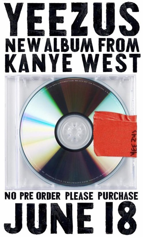 """Канье Уэст отказался от предпродаж нового диска """"Yeezus"""