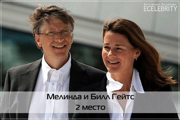 Наиболее авторитетные пары мира по словам Forbes (ФОТО)