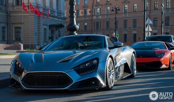 В Питере засветился эксклюзивный супер-кар Zenvo ST1