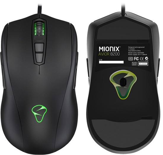 Mionix AVIOR 8200: мышка для киберспортсменов